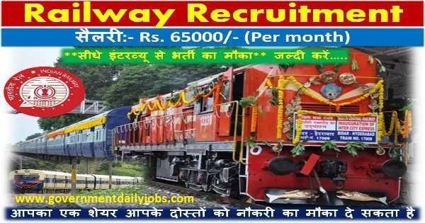 Railway Jobs for Ex-Servicemen