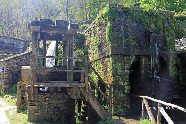 Conjunto etnográfico de Os Teixois, Taramundi, Asturias