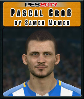 PES 2017 Faces Pascal Groß by Sameh Momen
