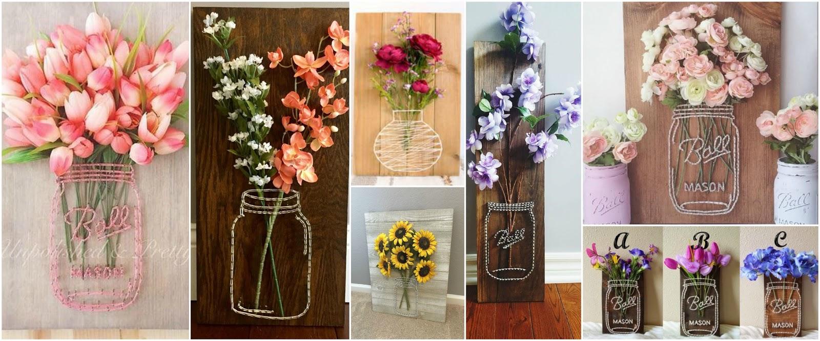 17 adornos bonitos para el hogar f ciles de hacer for Decoraciones sencillas para el hogar