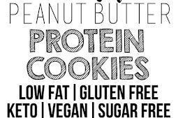 Low Fat Vegan Peanut Butter Protein Cookies