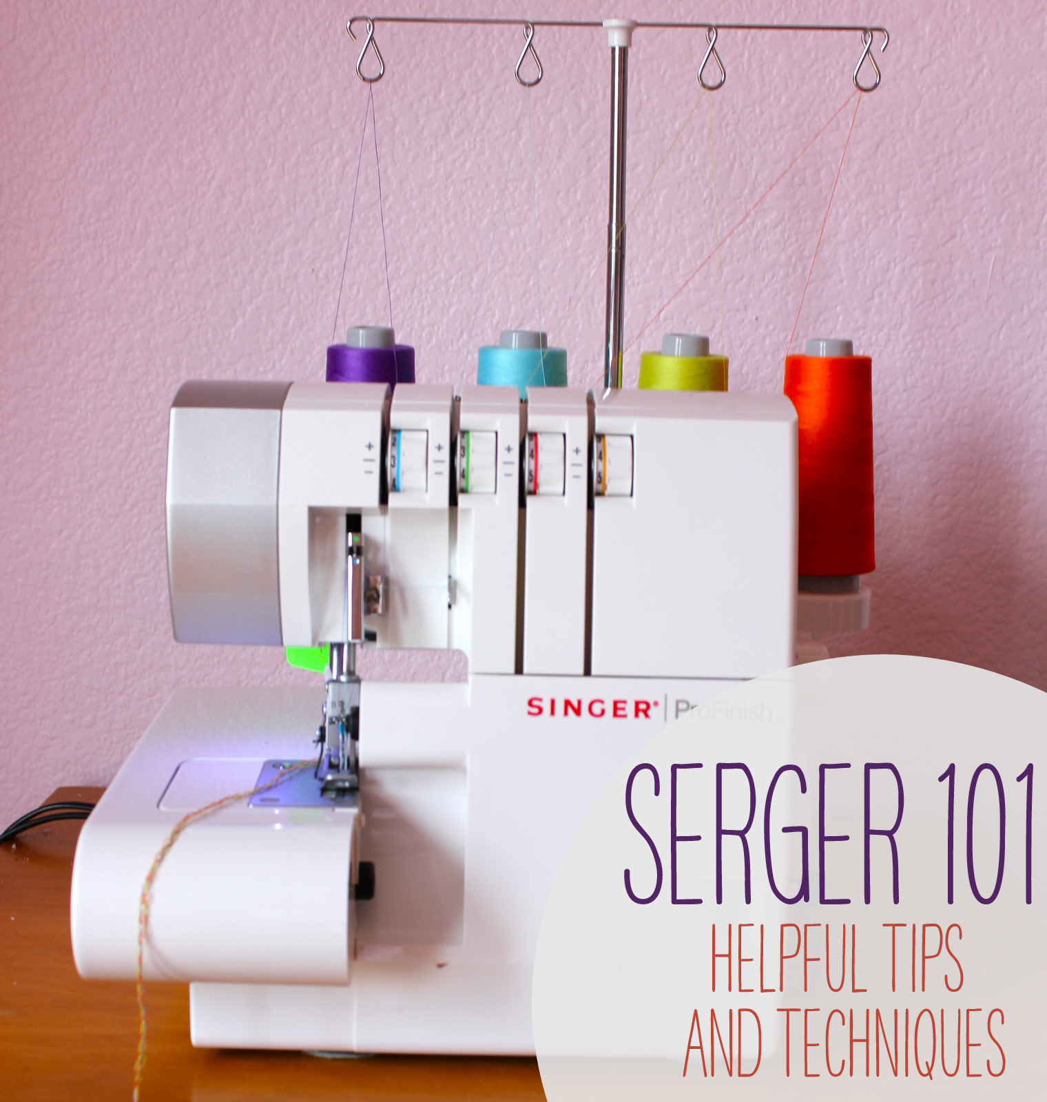 This helpful serger guide was submitted by Sarah from Sewing Parts Online.  If you're ever in the market for a special sewing foot, pedal, bobbin, ...