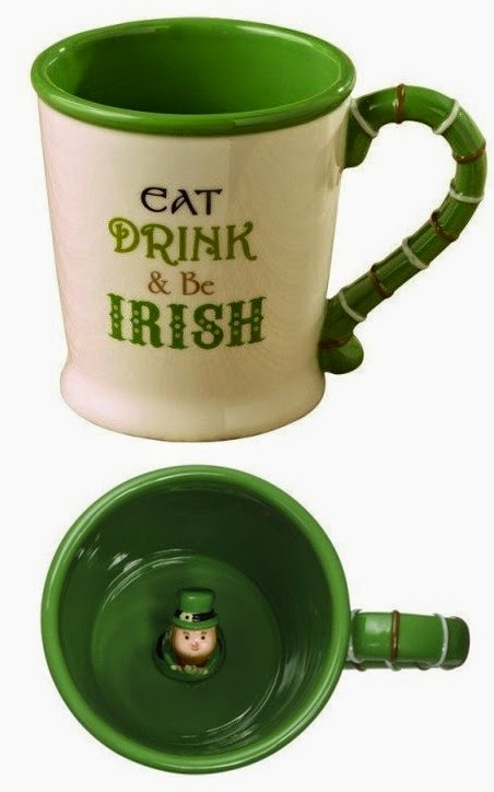 Eat, Drink & Be Irish mug Grasslands