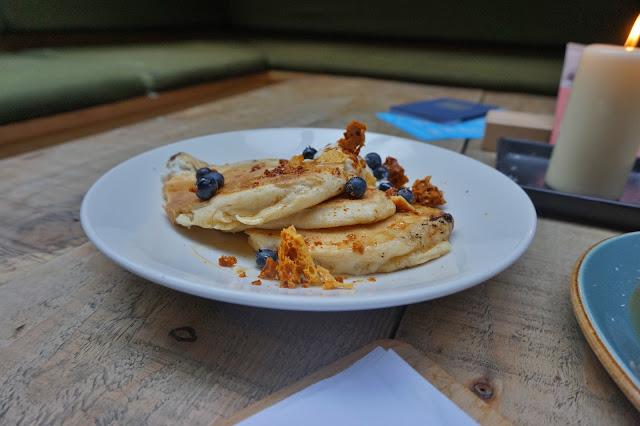 Ox Club Leeds ricotta pancakes