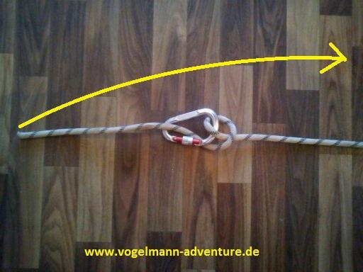 Sicherung Knoten HALB-MASTWURF-SICHERUNG - 6