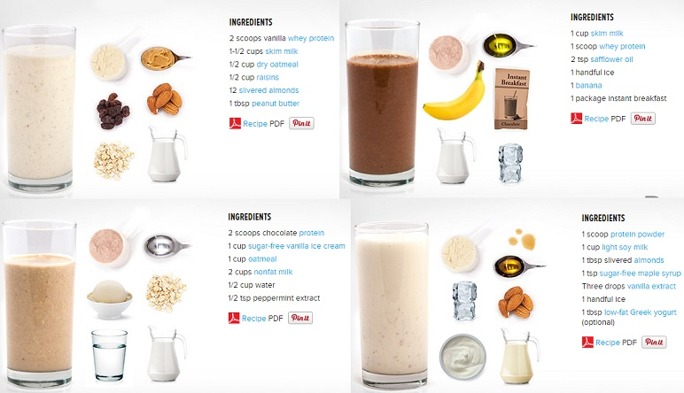 How To Make A Healthy And Tasty Muscle-Building Protein Shake - Bodydulding