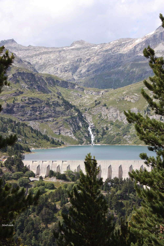Barrage plan d'amont Savoie