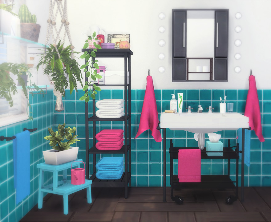 My sims 4 blog ikea inspiration bathroom set by moonycat for Ikea bathroom ideas and inspiration