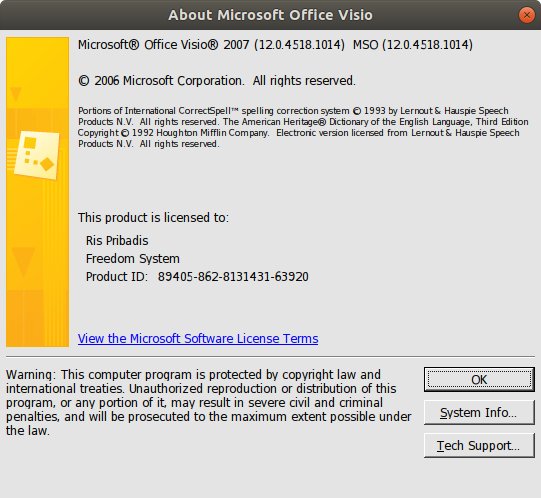 Microsoft Visio Professional 2007 Full Version Free Download