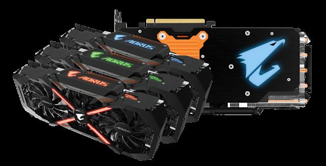 Gigabyte AORUS GPU lineup