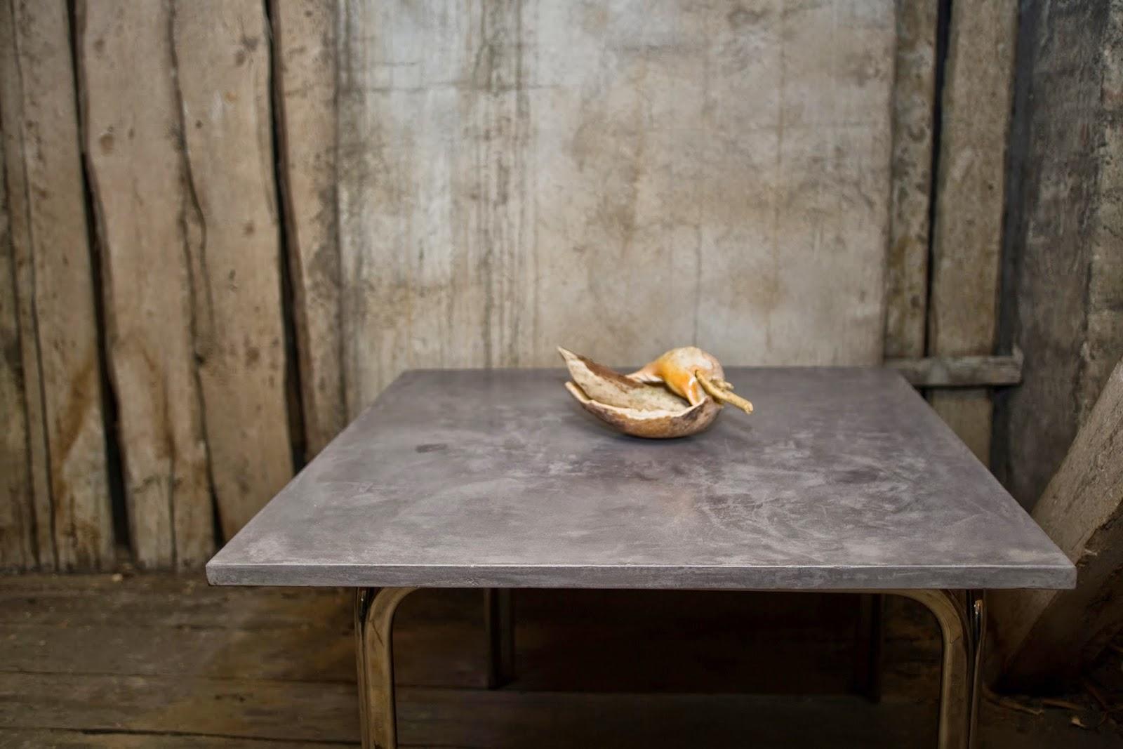 frankreich beton cire tisch