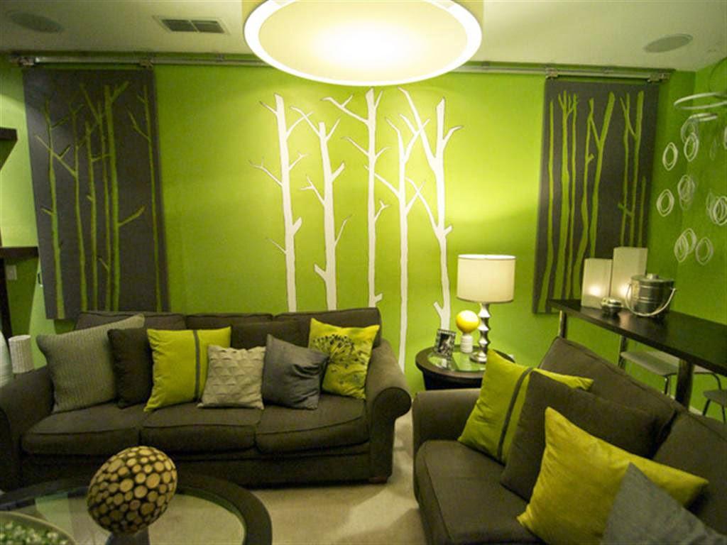 67 Desain Rumah  Minimalis Warna  Hijau  Desain Rumah