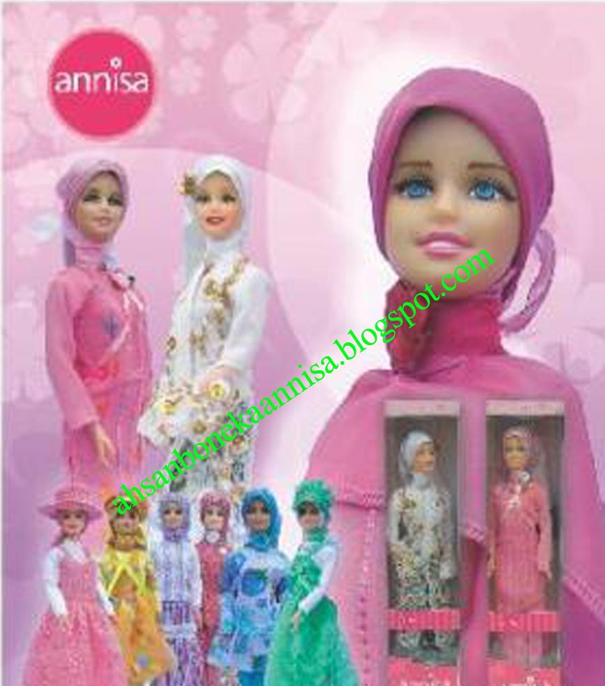 Boneka Barbie Muslim Annisa memiliki ciri khas dengan pakaian muslimnya  yang unik dan bervariasi. Boneka Barbie Muslim Annisa cocok sebagai mainan  favorit ... 2a018ffcaa