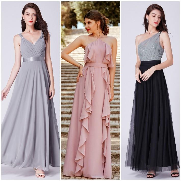 Inspirações de vestidos de festa para o ano novo