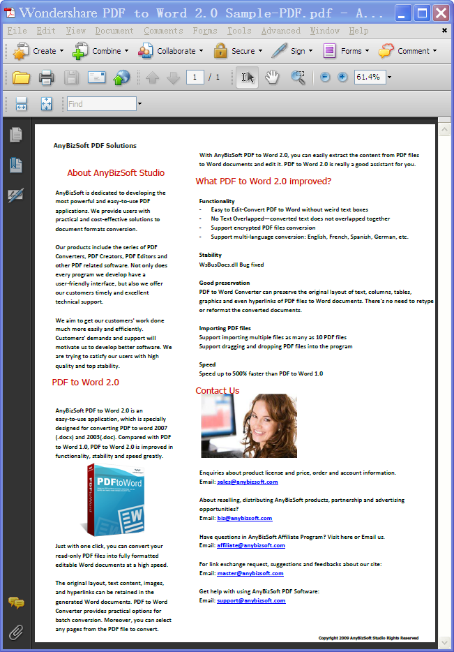 TO CONVERTER ANYBIZSOFT 3.5.0 TÉLÉCHARGER GRATUIT PDF FREE WORD
