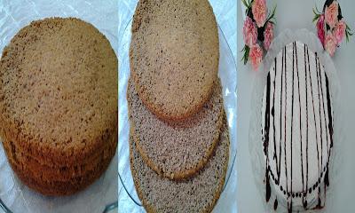 Kakaolu Yaş Pasta Tarifi yapılışı
