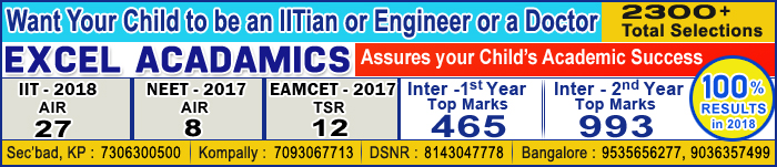 Want Your Child to be an IIT-IAN or Engineering or a Doctor 2300+ Total Selections Excel Academcs we Assure your Child Academic Success