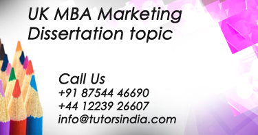 marketing dissertation Introduction the purpose of a dissertation is to add to the existing body of literature by keeping a narrow focus of research so that the encompassing research.