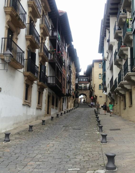 casco histórico de Hondarribia