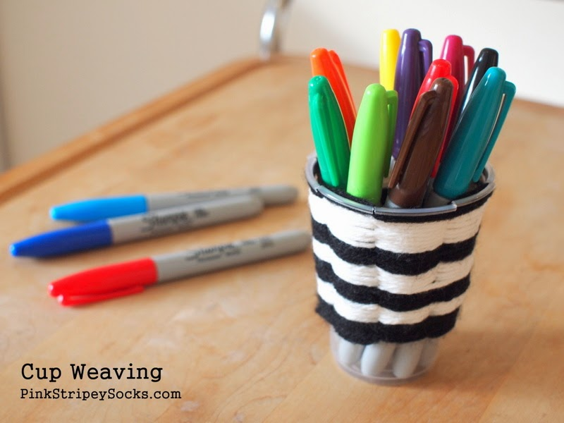 how to do cup weaving