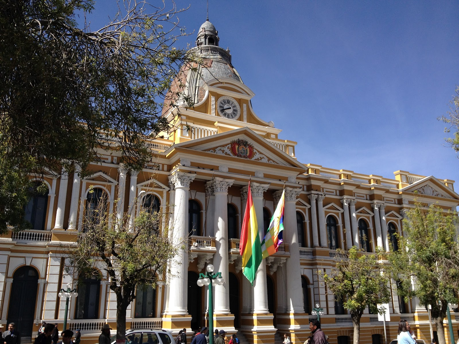 Bolivia en los ojos de Becca: Exploring the City with Jodi
