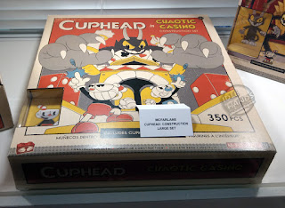 UK Toy Fair 2019 McFarlane Toys Cuphead Video Game Construction Sets