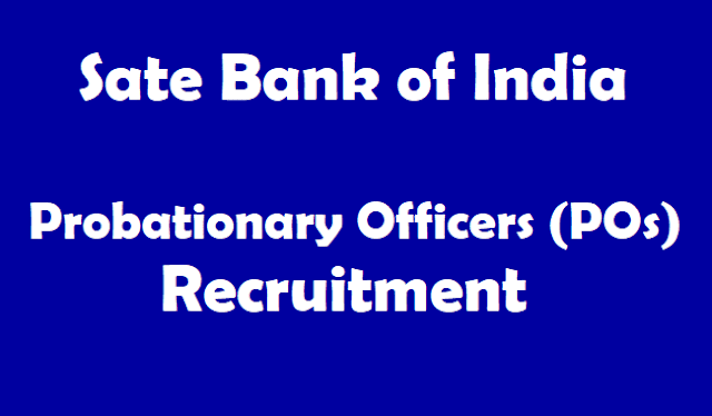 TS Jobs, TG State, SBI POs Recruitment, SBI Recruitment, State Bank of India jobs, Probationary Officers, Bank jobs, Bank PO jobs