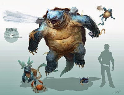 squirtle- wartortle-blastoise-kraby-shellder-magikarp-pokemon- pokemon reales- pokemon en la vida real- pokemon origin-