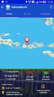<b>Sesar Naik Flores Masih Terus Bergerak, Hari Ini Lombok Dua Kali Diguncang Gempa</b>