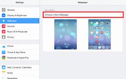 Cara Mengatur Background Wallpaper iPad Kamu