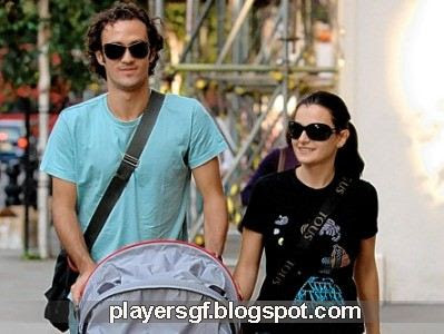 Ricardo Carvalho and his wife Carina