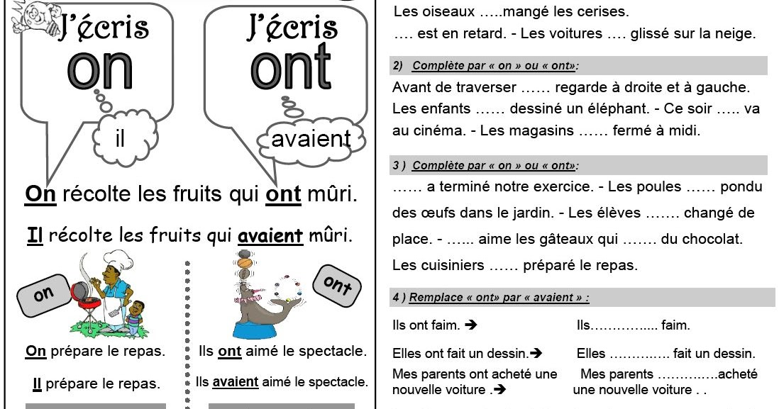 Ipotame Tame Ce1 Orthographe Exercices Et Lecons