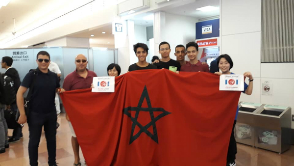 Launch of the delegation of the Moroccan students at the International Olympiad for Media and Programming (IOI)
