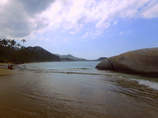 La Piscina beach in Tayrona National Park, Colombia