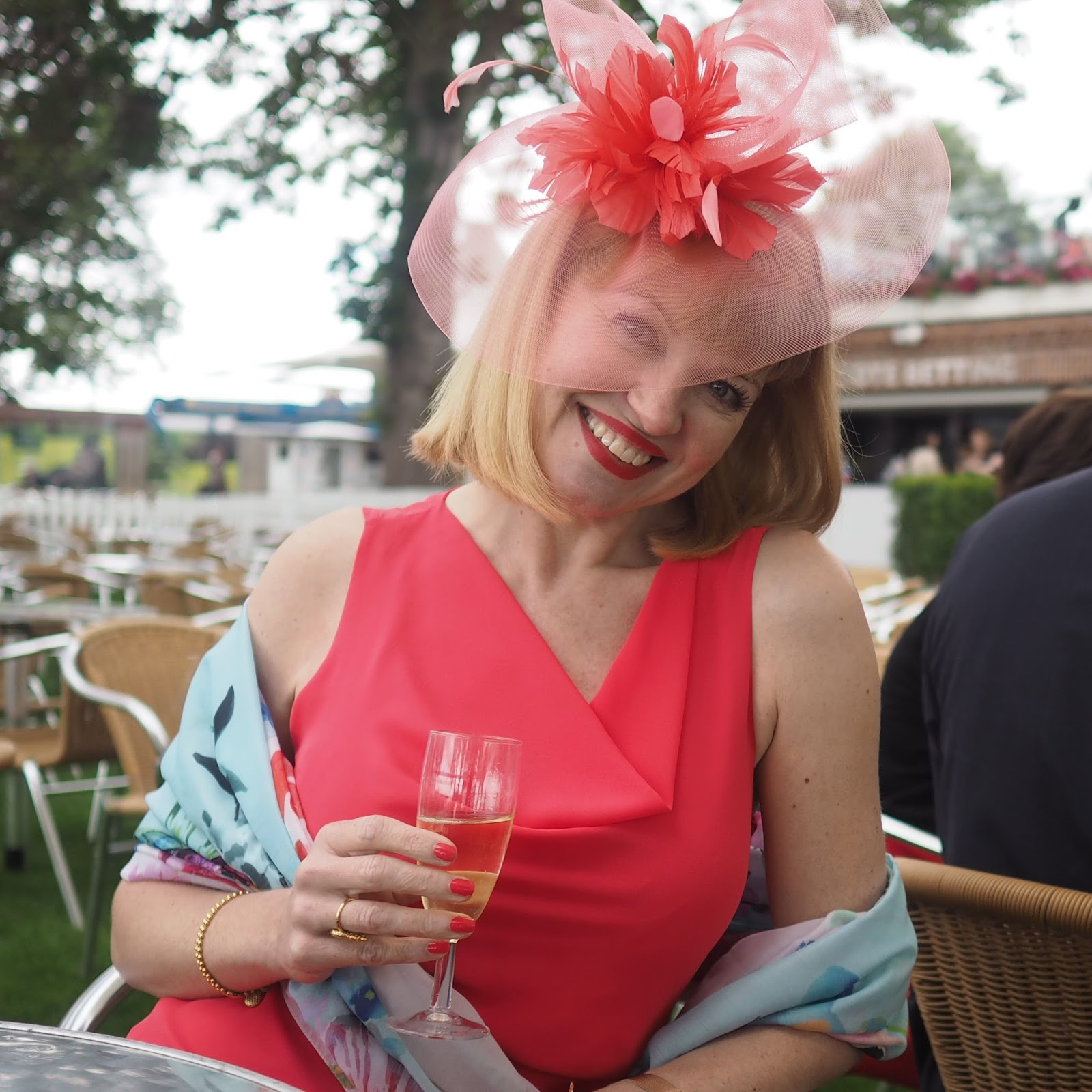Champagne at York races