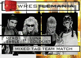 WWE / WWF - Wrestlemania 14 Review  -  Sable & Marc Mero vs. Luna Vachon & Goldust