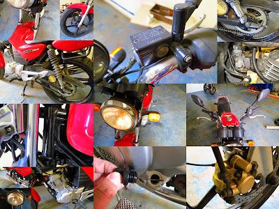 yamaha brake chain  tyre wheel service maintenance