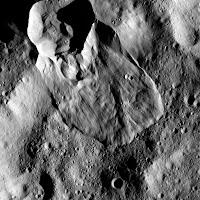 Landslides on Ceres