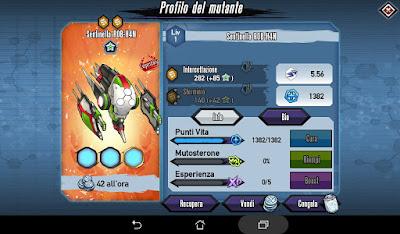 Mutants: Genetic Gladiators Breeding video N°447 (R0B-H4N Sentinel - Robot # Sentinella R0B-H4N - Robot)