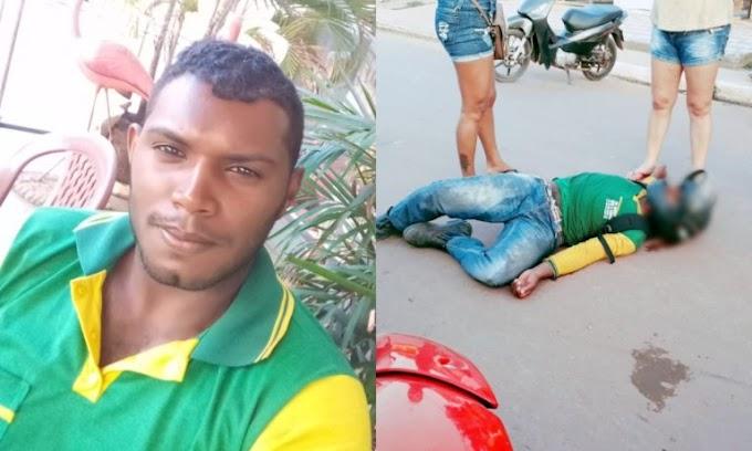 Colisão entre duas motos deixa vendedor ferido em Itaituba