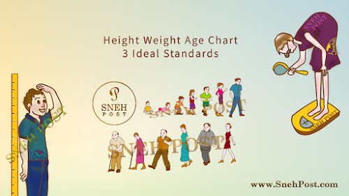 Height Weight Age Chart: 3 Evergreen Ideal Standards