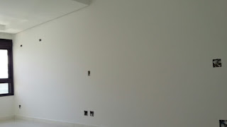 parede consertada