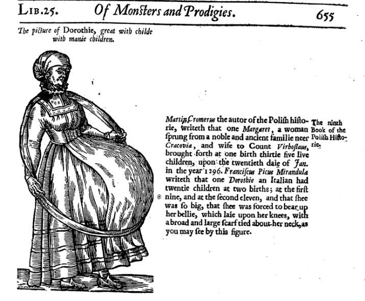 My Early Modern World: Monstrous births
