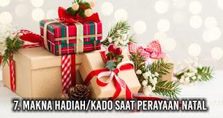 Makna Hadiah/Kado saat perayaan Natal
