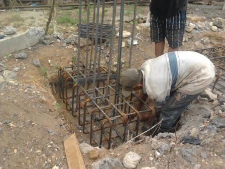 metode pelaksanaan pemasangan tulangan pada kolom  KUMPUL