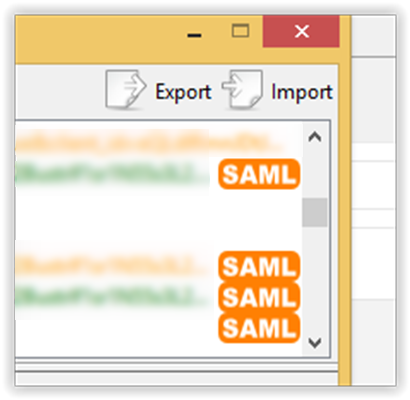 Random thoughts and collisions: SAML : ASP NET MVC