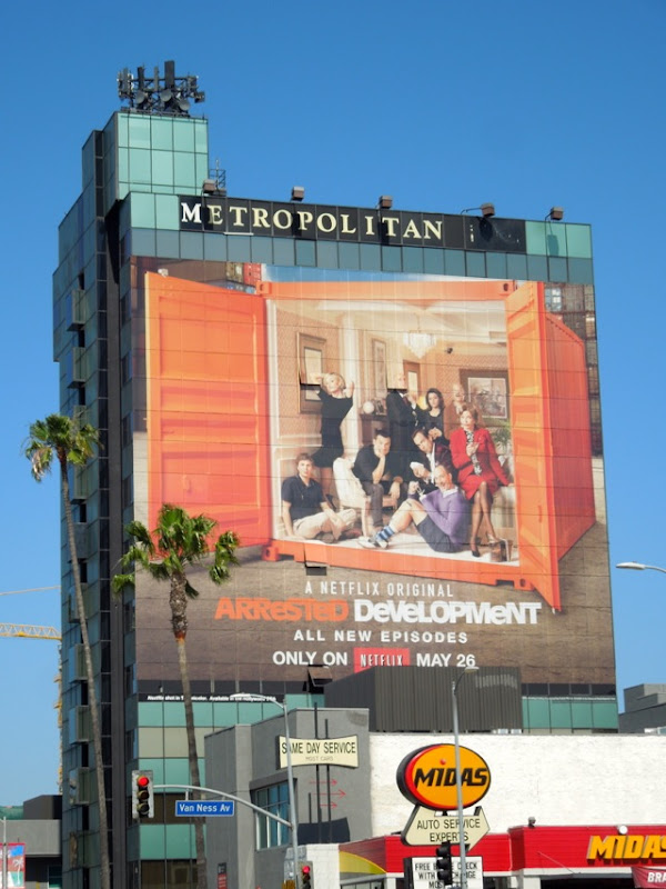 Giant Arrested Development season 4 billboard