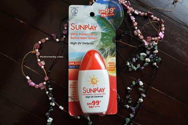 Review  Sunscreen Sunplay Ultra Protection  SPF 99+ PA++++ Light UV Defense