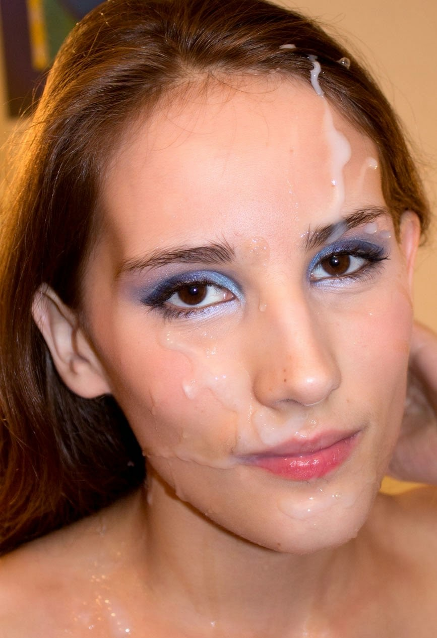 Young babe first facial, young girls as women