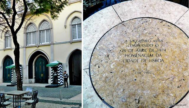 Largo do Carmo, Lisboa, cenário da Revolução dos Cravos